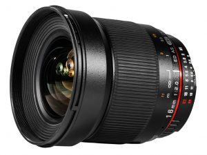 SAMYANG 16MM F2,0 ED AS UMC (APS-C) Nikon
